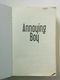 Annoying Boy (Apakah aku salah mengenalmu?)