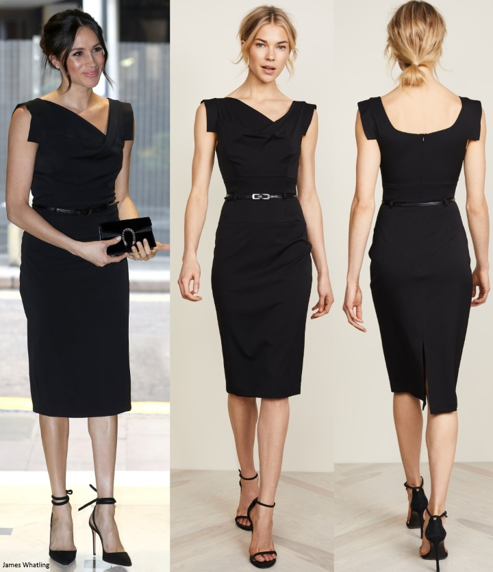 Mad About Meghan Elegant Meghan In Lbd For Chogm Women S