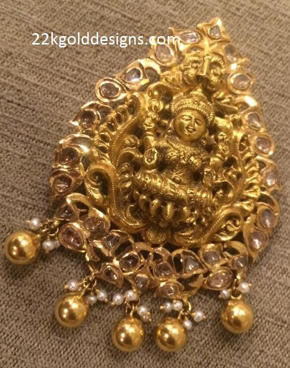 Pachi Lakshmi Pendant