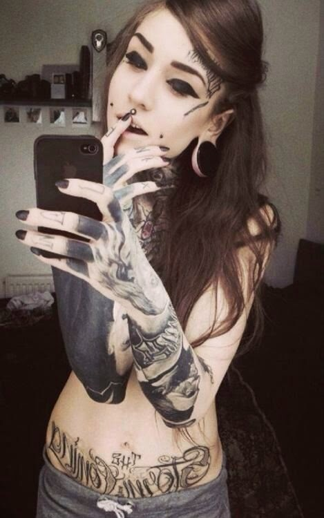 La Mujeres Tatuadas Gustan Mas Por 10 Razones Belagoria