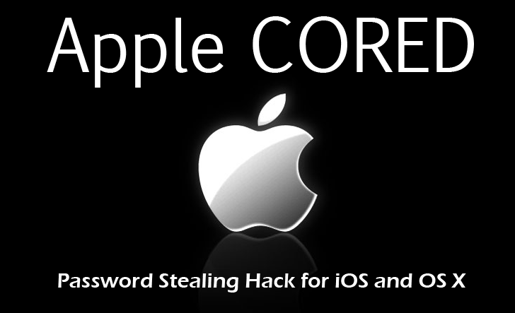 Zero-Day Exploits for Stealing OS X and iOS Passwords