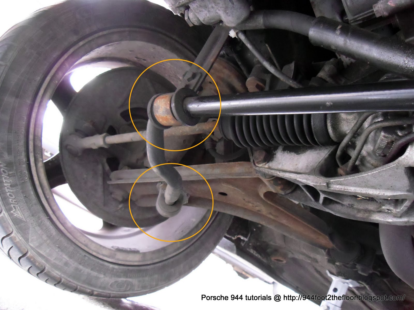 944 Foot To The Floor How To Replace The Front Stabiliser