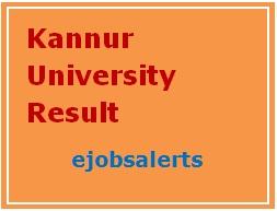 Kannur University Result 2017