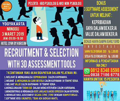 Pelatihan Psikologi Yogyakarta 2019