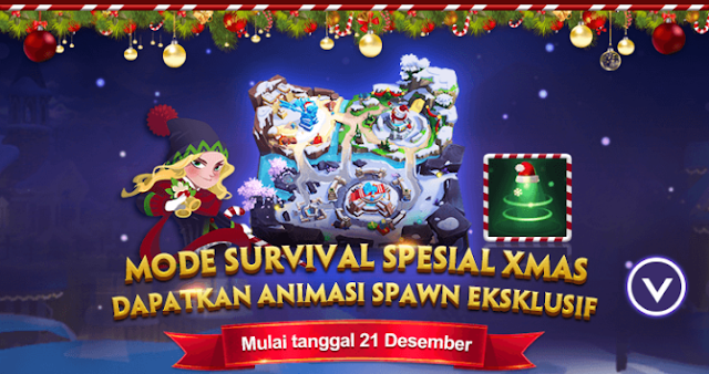 Buruan Main di Mode Survival Special Xmas Dapatkan Animasi Spawn Eksklusif Gratis 1