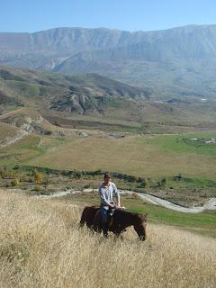 Albania, ratsastusmatka