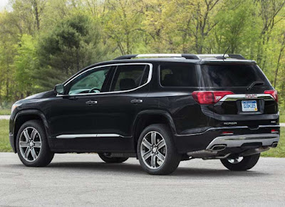 Upcoming 2017 Acadia Denali side view picture