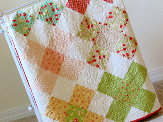 Large Granny Square Quilt Free Pattern