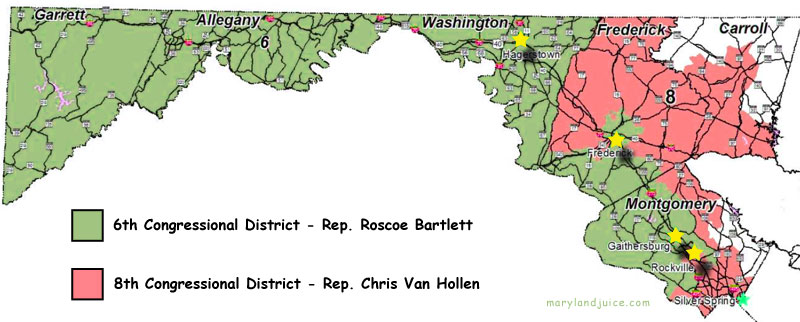 maryland 6th congressional district polls - 800×322