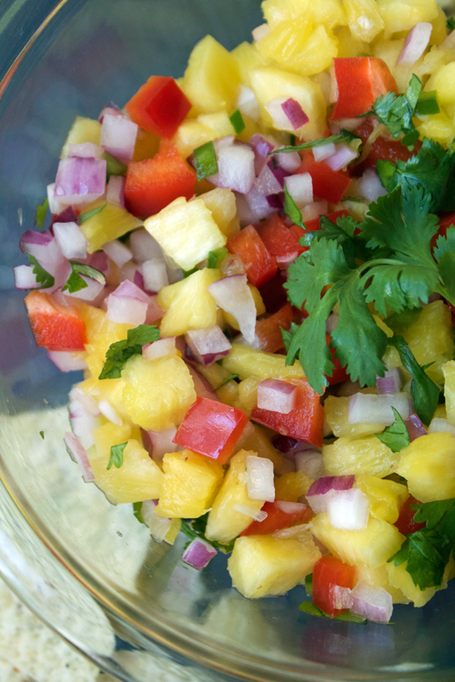 Pineapple Salsa    A Less Processed Life