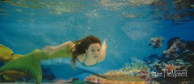 Meerjungfrauenschwimmen
