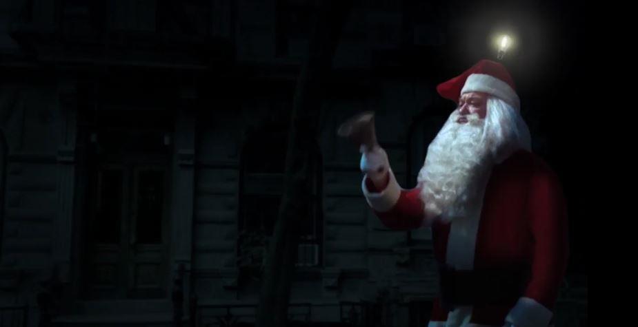 Canzone Beghelli pubblicità Lampade Led con babbo natale - Musica spot Novembre 2016