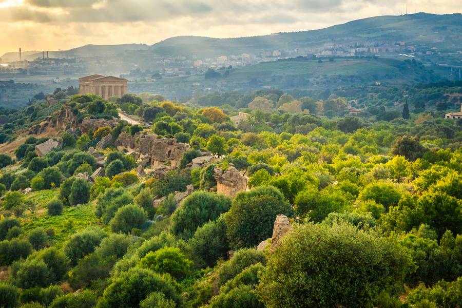 La Valle dei Templi ad Agrigento, scenari favolosi