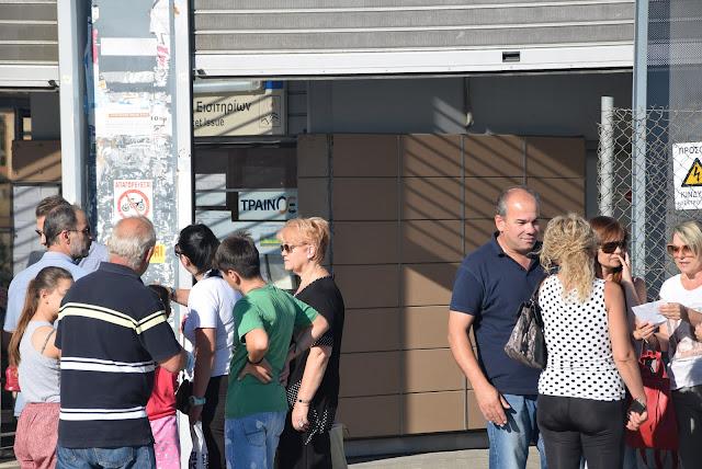 Ανησυχίες των επιβατών του Προαστιακού να μην συμβούν αυτά του έγιναν το 2012.