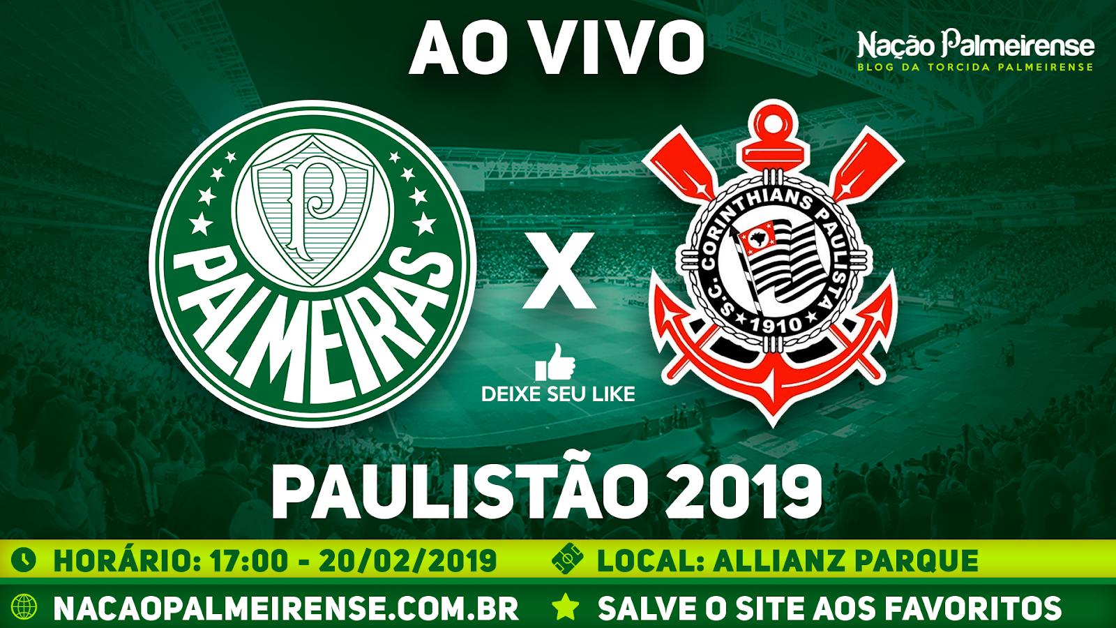 Assistir Palmeiras x Corinthians Ao Vivo