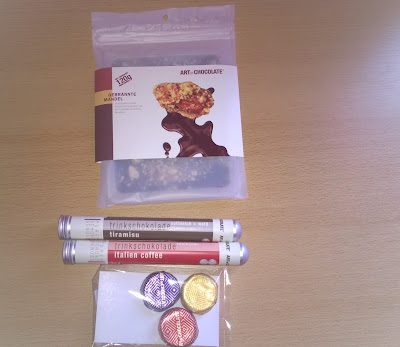 4 verschiedene Produkte von Art of Chocolate.