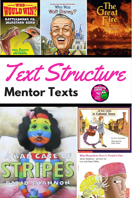 Mentor Texts for Teaching Text Structures