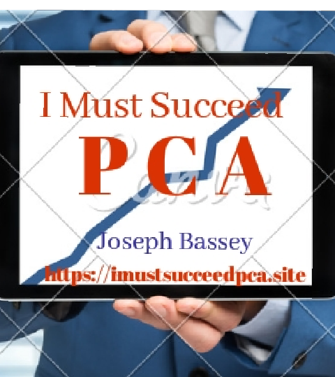 I Must Succeed. PCA