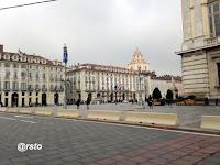 piazza Castello e il gridelino
