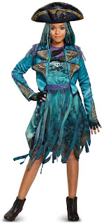 Girls Disney Descendants 2: Uma Deluxe Isle Look for Halloween