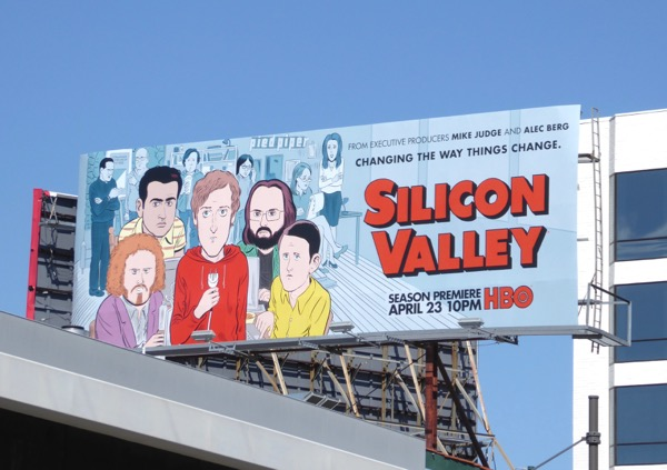 Silicon Valley season 4 billboard