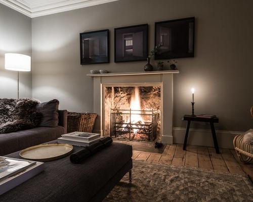 Inspiring interior design in a beautiful Scottish stone farmhouse on Hello Lovely Studio