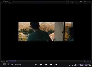 KMPlayer: маленький размер видео.