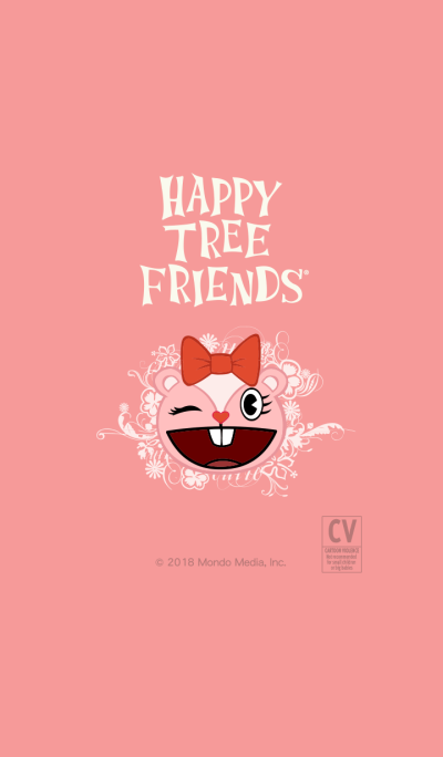 HAPPY TREE FRIENDS pink