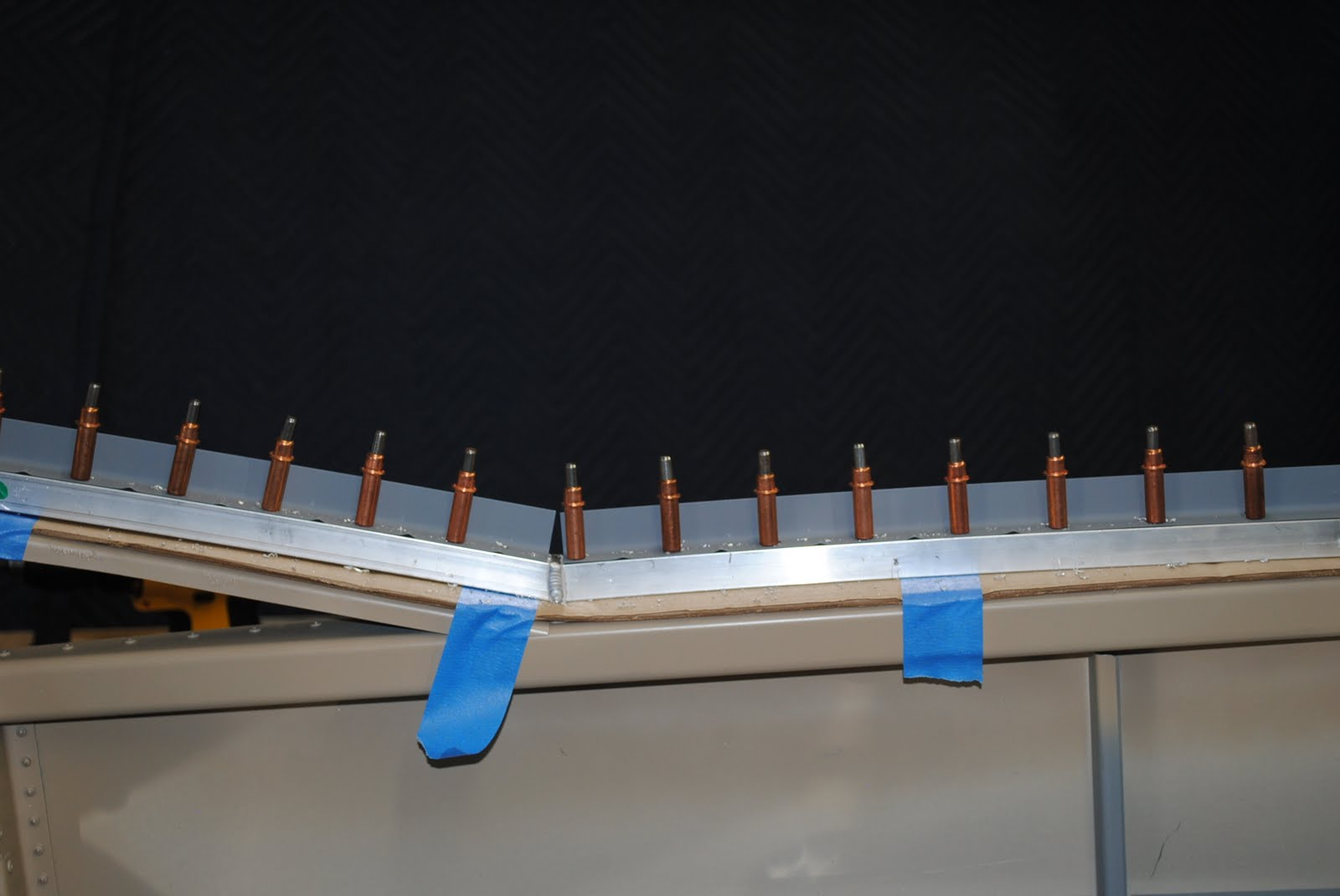 Rivet Canopy Attach Angles & RV-12 Builder in Sandy UT: Rivet Canopy Attach Angles