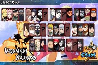Naruto Senki Mod PDS4 by Khoirul Amin Apk Android Terbaru