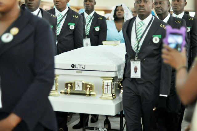 Stephen Keshi's Burial