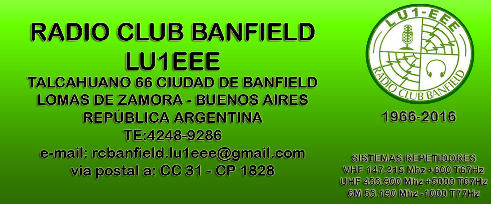 Radio Club Banfield - LU1EEE