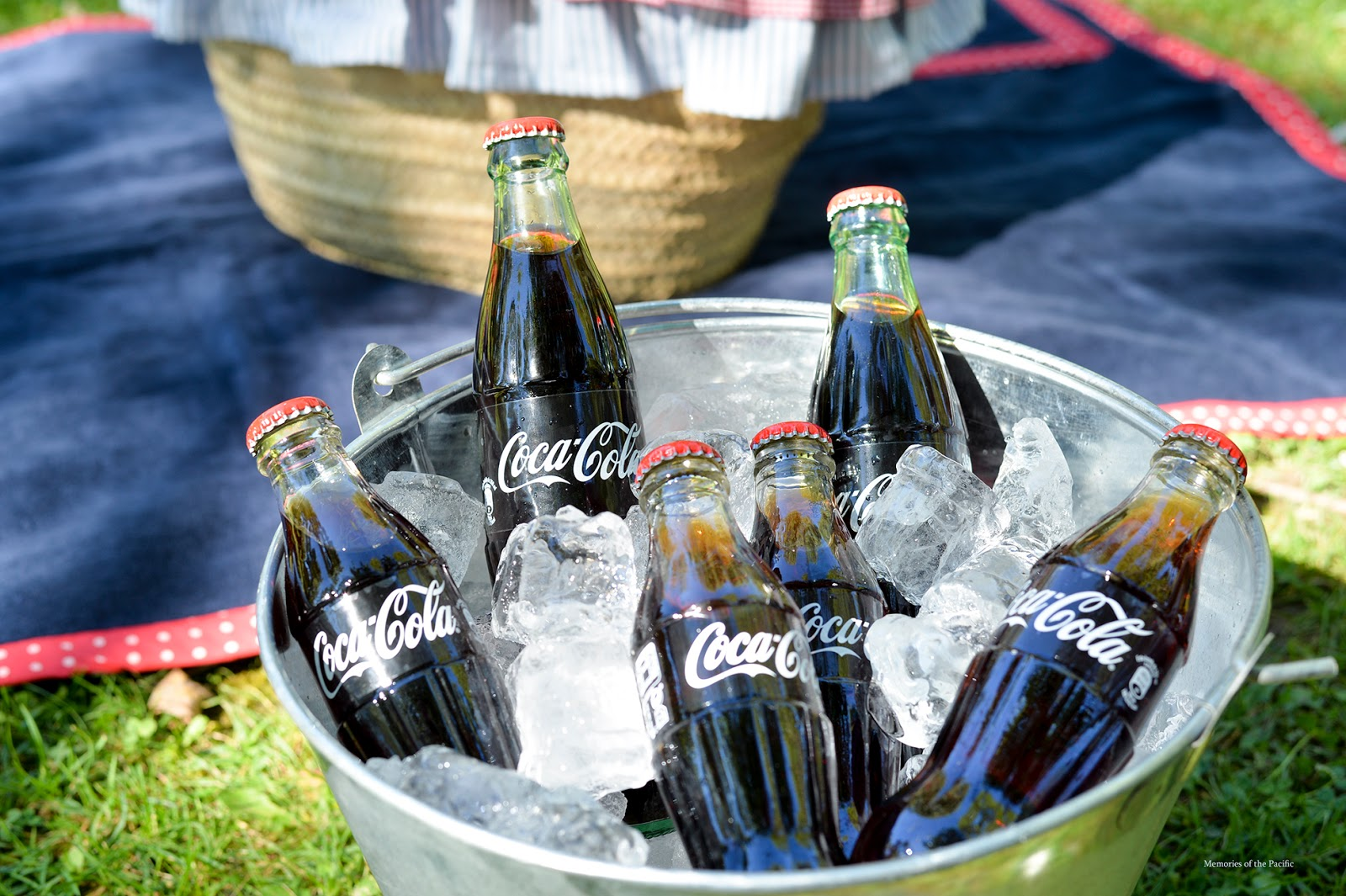 fourth of july picnic coca-cola