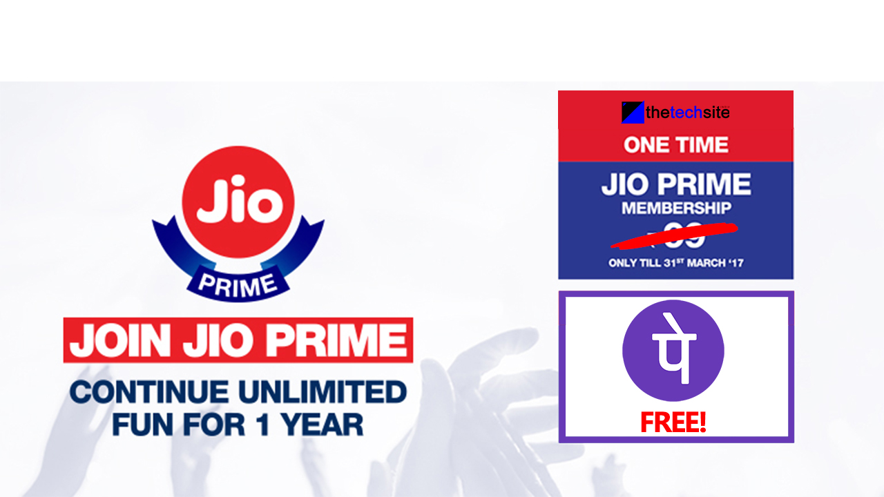 Free Jio Prime Membership