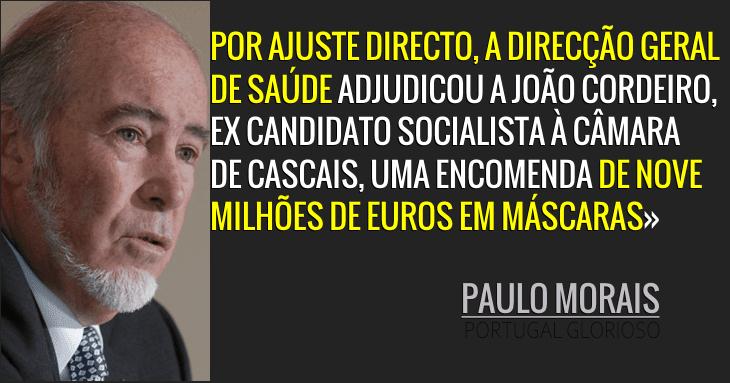 Paulo Morais: Urgência imperiosa ou favorecimento imperdoável?