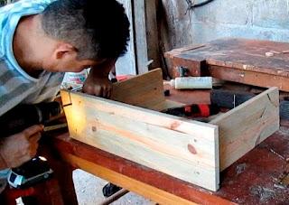Construcción de gavetas