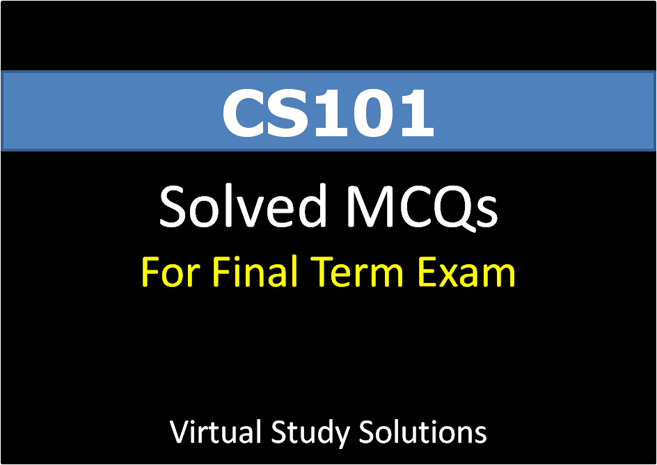 cs101 old solved midterm papers Solution of assignments gdb,s mcq,s mid term and final term paper of cs101 cs101 final term past solved paper cs101 final term past solved paper (1) cs101.