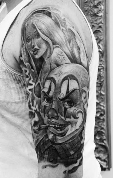 1000 Cartoon - Tattoo Artist Usa