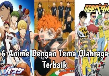 6 Anime Keren Tema Olahraga Yang Bisa Membuat Kalian Suka Olahraga