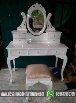 Meja Rias Kartini warna duco putih