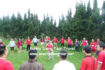 jasa sewa outbound di dieng