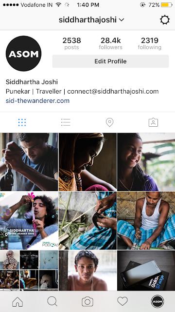 instagram siddhartha joshi india