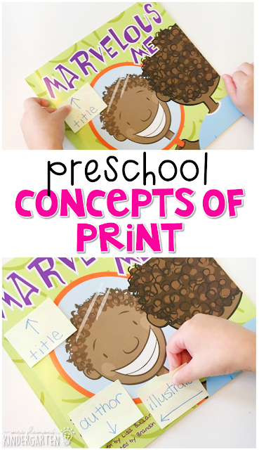 Practice concepts of print with this perfect All About Me picture book. Great for tot school, preschool, or even kindergarten!