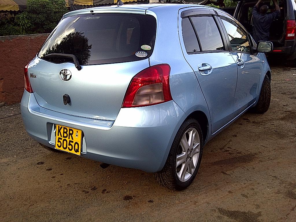 NairobiMail: TOYOTA VITZ / YARIS 2005