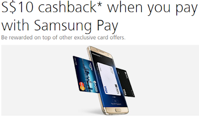 Samsung Pay Attractive Rebates