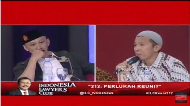 Ini Video  Abu Janda Panik Saat Ustadz Felix Siauw Tunjukkan Kebohongannya di ILC