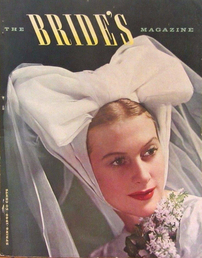Below Is A Collection Of 27 Beautiful Covers From The Bride S Magazine In 1940s