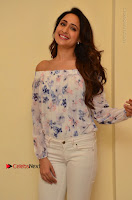 Actress Pragya Jaiswal Latest Pos in White Denim Jeans at Nakshatram Movie Teaser Launch  0060.JPG