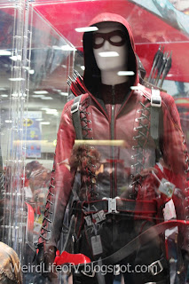 Arsenal costume display
