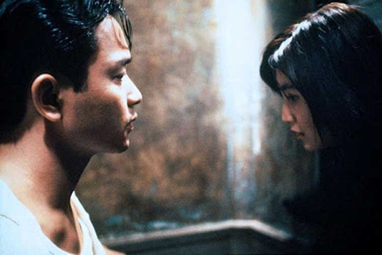 Leslie Cheung and Maggie Cheung star in Days of Being Wild.